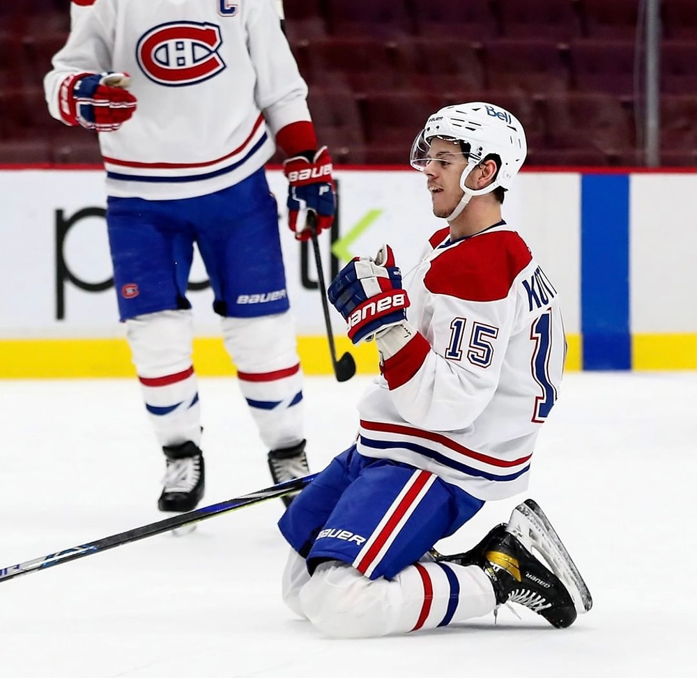 Habs forward Jesperi Kotkaniemi Montreal Canadiens