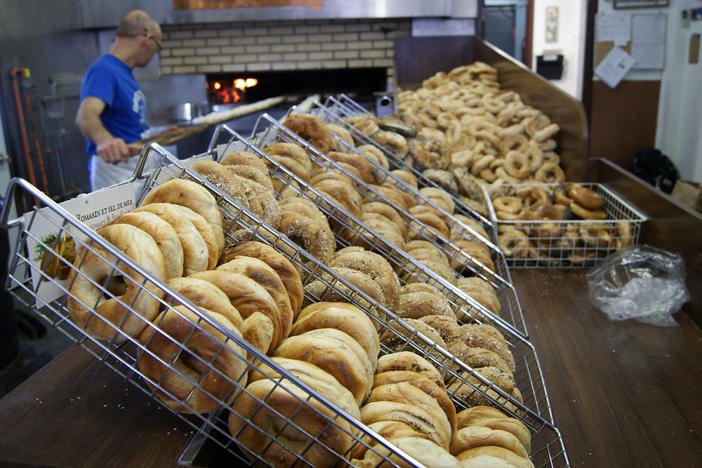 St-Viateur bagels in DDO
