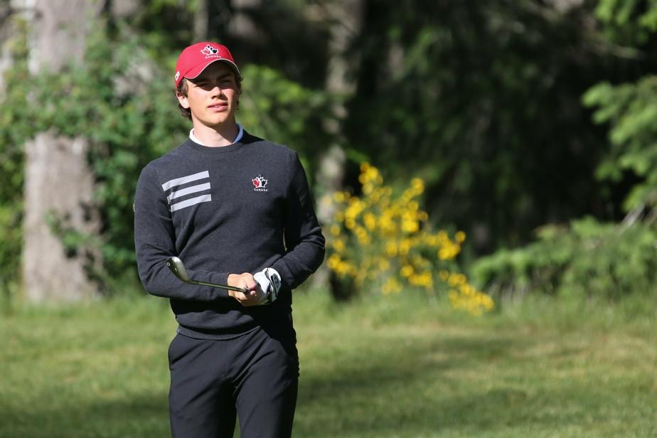 Quebec golfer Christopher Vandette
