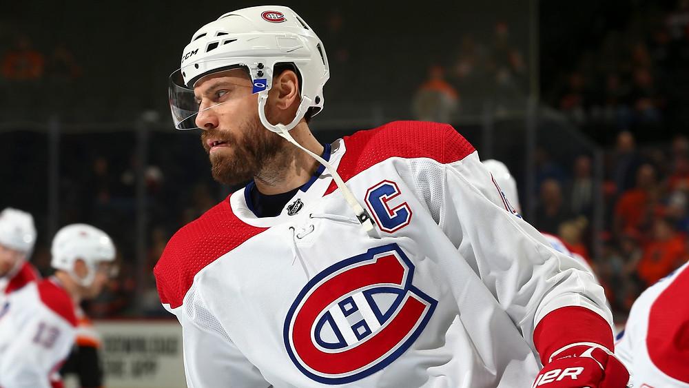 Montreal Canadiens captain Shea Weber