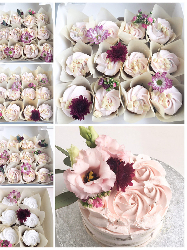 leivoksia ja cupcakeja