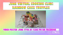 June Virtual Cooking Club
