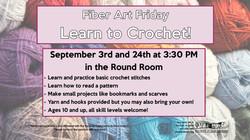 September Fiber Art Fridays