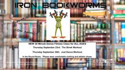 September Iron Bookworms