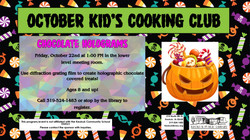 October Cooking Club