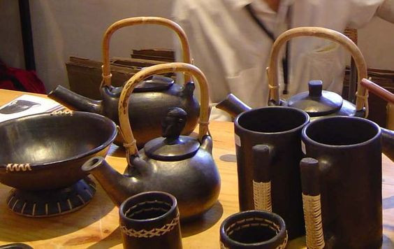 A set of items including cups, jugs bowls etc.