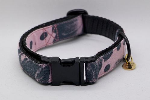 """Hundehalsband """"Pink Floral"""""""