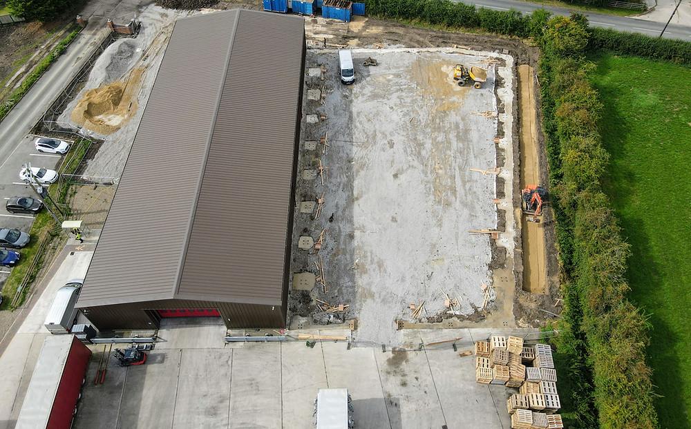 Huge expansion at cardboard tubes factory