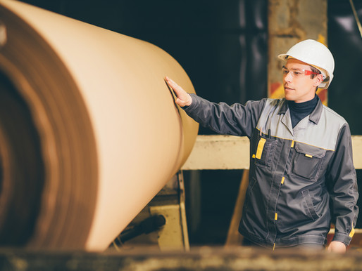 Explainer: How our suppliers make coreboard (cardboard tubes raw material)