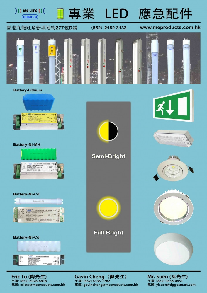 LED Exit Sign Emergency