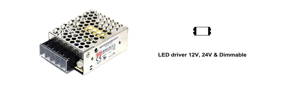 MELITE LED Light Driver Series Banner