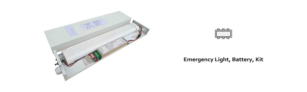 MELITE Emergency Lighting Series banner