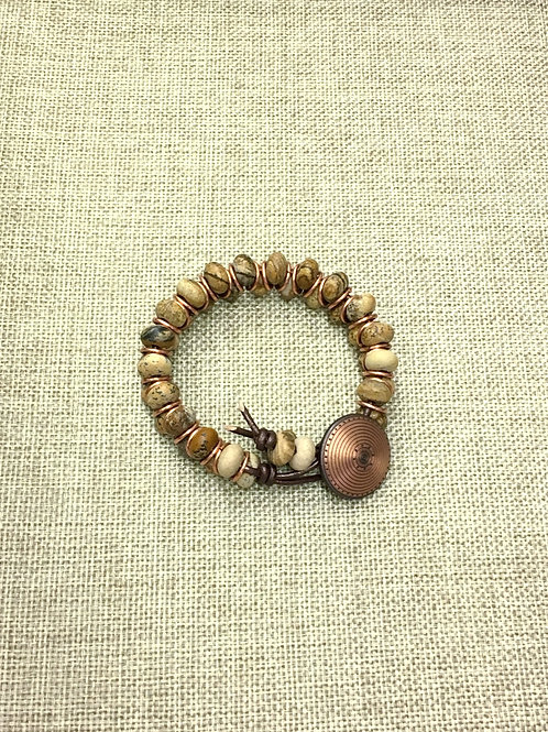 Picture/Jasper/Copper Bracelet Kit