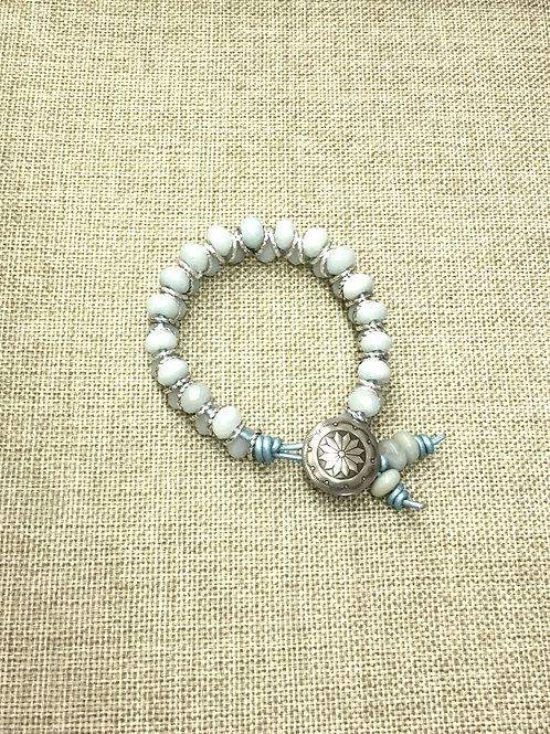 Amazonite Chevon Bracelet Kit