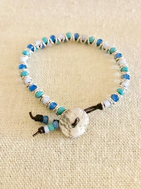 DIY/Ocean Waves Seedbead Chevron Bracelet Kit