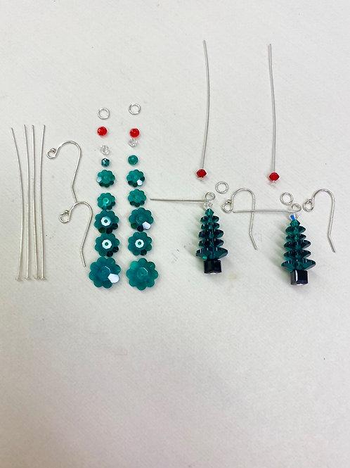 DIY/Swarovski Emerald Crystal Tree Kit Instructions Included
