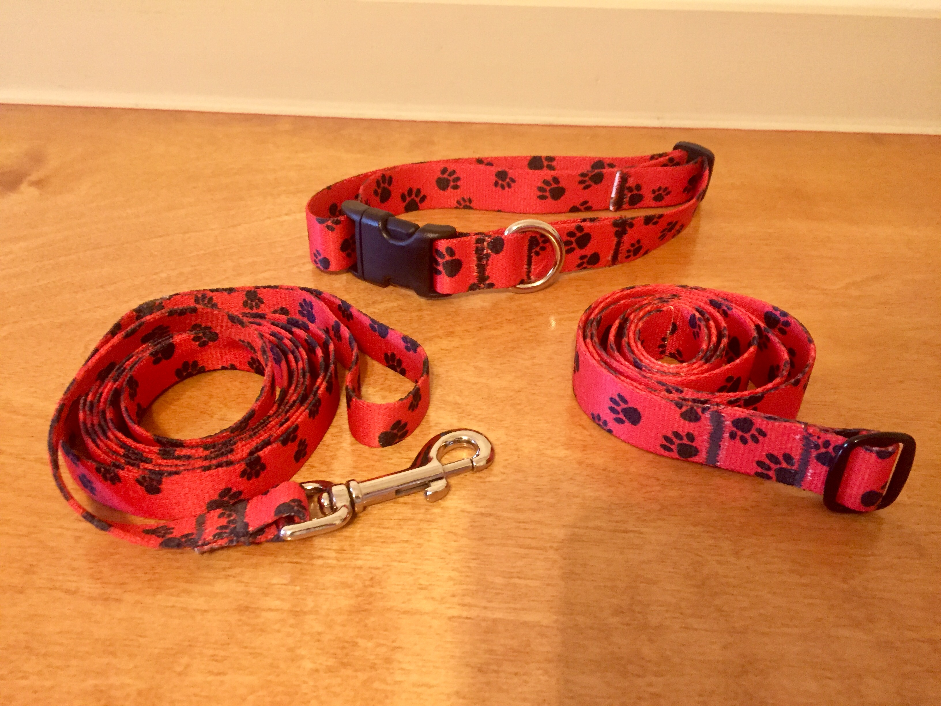 Want matching belt, collar, & lead?