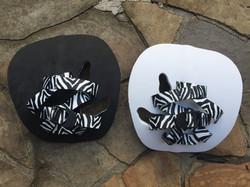 Foamed with Zebra straps