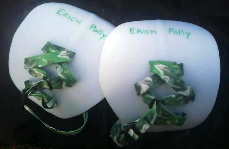 Erich's hand paddles