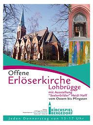 Plakat Offene Erlöserkirche Lohbrügge