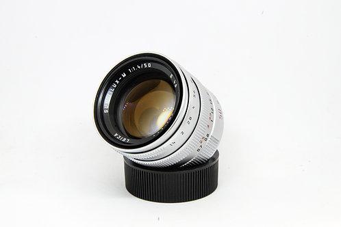 Leica Summilux 50mm f1.4 Ver.3 (Silver)