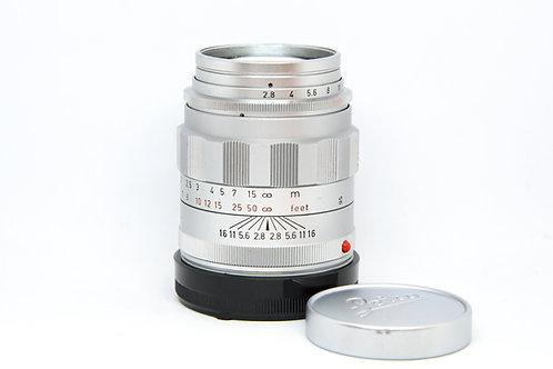 Leica Tele-Elmarit 90mm f2.8 (Silver)