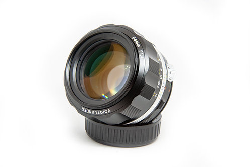 Voigtlander Nokton 58 mm f1.4 SL II
