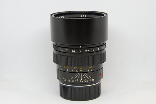 Leica Summilux-M 75mm f1.4 德版