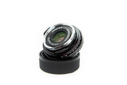 Voigtlander Color Skopar 35 mm F2.5 PII