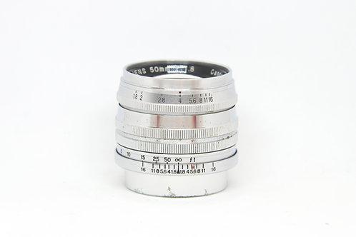 Canon 50mm f1.8 L39