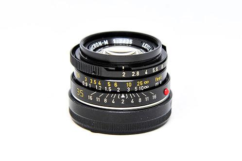 Leica Summicron 35mm f2 (7枚玉)虎爪版