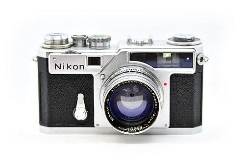 Nikon SP with Nikkor-S.C 5cm f1.4