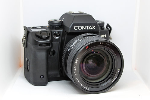 Contax N1 With Carl Zeiss Vario-Sonnar 24-85mm f3.5-4.5 T*