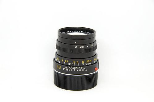 Leitz Summicron 50mm f2 ver.IV (尾期Leica字)Black