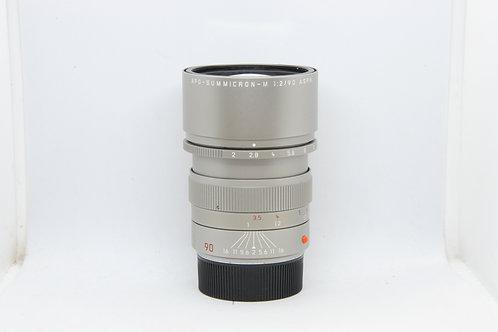 Leica Summicron-M 90mm APO Asph Titanium