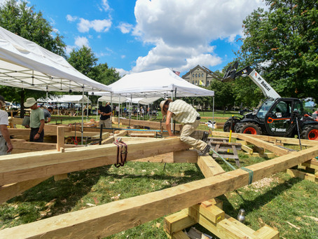 Students Build Truss for Notre Dame Cathedral