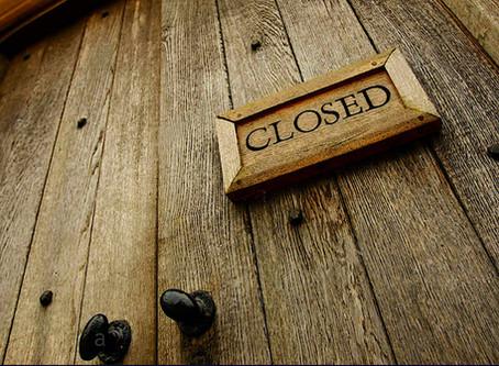 2020-21 Faire Closings & Delays