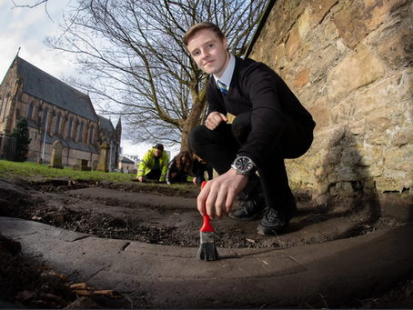 Teen Uncovers Another Govan Stone
