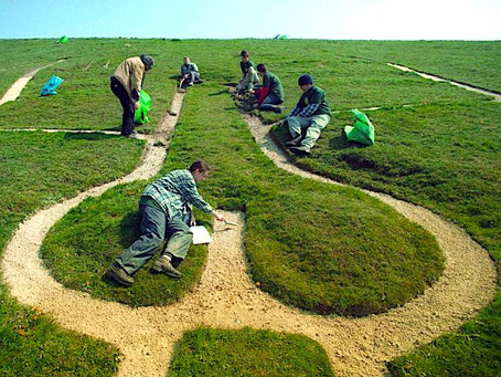 UK's Chalk Giant Dated to Middle Ages