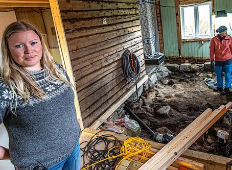 Viking Grave Found Under Home