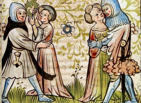 Medieval Bawdy Poem Resurfaces