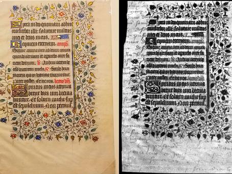 Undergrads Find Hidden Text in Rare Manuscript