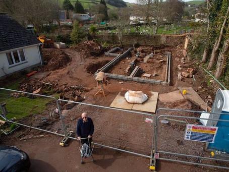 Retiree Digs Up Medieval Ruins in Back Yard