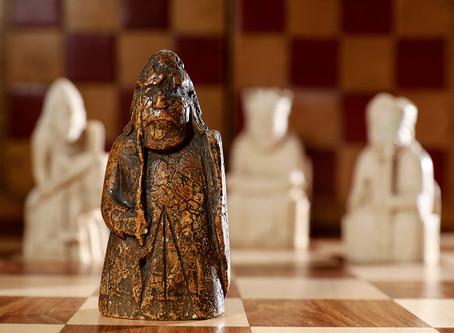 Medieval Chess Piece Found