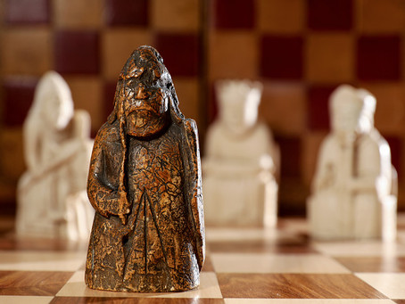 Medieval Chess Piece Found
