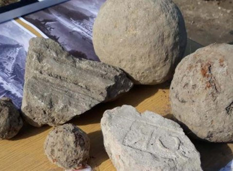 Dracula's Cannonballs Unearthed