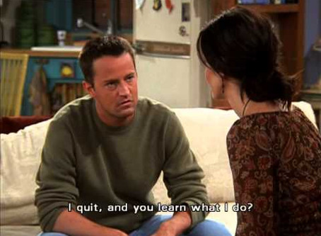 Don't be Chandler