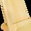 Thumbnail: Support à tablette en bois de pin massif - taxes incluses