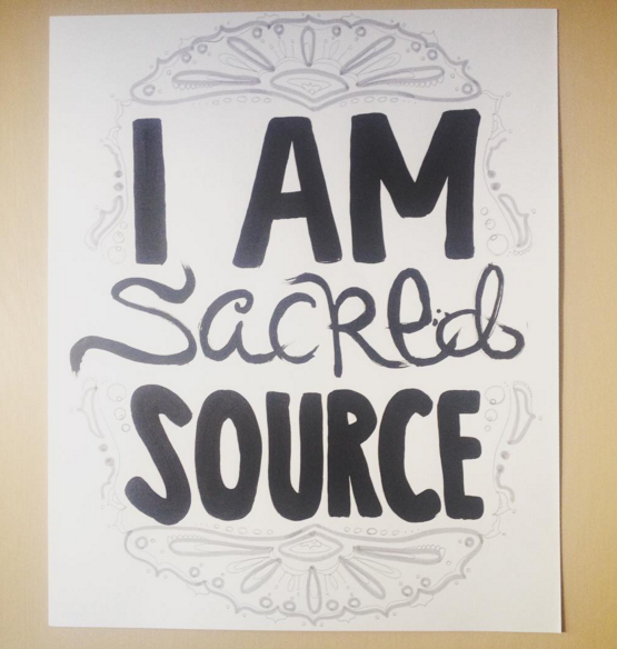 I am sacred source