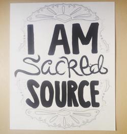 I am sacred source